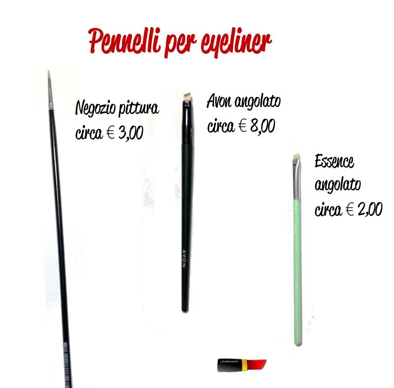 pennelli eyeliner